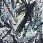 04 - Emilio Vedova, Senza titolo,  1959, olio su tela, cm 65 x 45