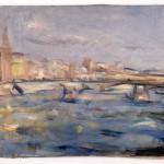 Enzo Pregno, Ponte S.Trinita 1946