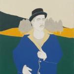 02 Irene Balia, Senza titolo, 2012, olio e grafite su tela, 70x50cm