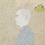 03 Irene Balia, Senza titolo, 2012, olio e grafite su tela, 40x40 cm