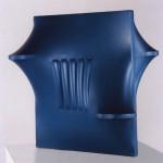 BONALUMI - Scultura blu. 1966 78 x 80 x 48 cm