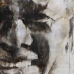 Nelson Mandela - Primo piano- 200x100 cm