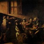 Vocazione di San Matteo, da Caravaggio RG,olio su tela,cm322x340_2010_