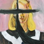 Dairy Art Centre, Julian Schnabel, Untitled (Girl with No Eyes) 2014