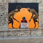 Die Mauer Street Art,  Prato, 2014.