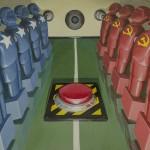 Cold war- ball in the middle! ÔÇô 70x45 ÔÇô acrilico su tela ÔÇô 2014 LOWRES