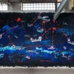 Gianfranco Notargiacomo murale per il MAAM photo Giorgio Benni