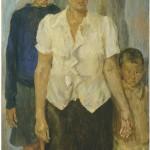 Fausto Pirandello, La famiglia dell'artista