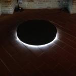 3_Angelo Bucciacchio, Black hole, 2013, gommapiuma e luci led, 14x100x100 cm