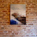 9_Enrico Minguzzi, Incanto, 2014, acrilico ed olio su tela, cm 80x60