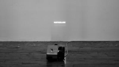 Back stage mostra Stanze#1 Anselmo _ Kounelis, Museo Riso. Credito fotografico L. Nicolosi per Museo Riso