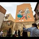 Asalto, street art a Zaragoza