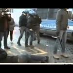 Piazza di Spagna, gli scontri