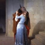 Francesco Heyez, Il bacio, Pinacoteca di Brera