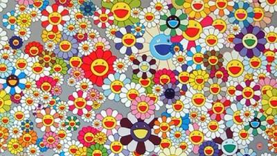 Takashi Murakami, Flower (Superflat) (2004)