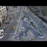 L'installazione dello street artist JR per il New York Times