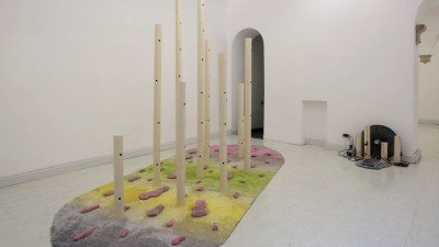 Matteo Nasini, Resort Mirage. Installation view. Operativa Arte Contemporanea, Rome, 2015-1