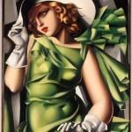Tamara de Lempicka, Ragazza in verde (1930-1931)