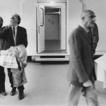 -�Maria Mulas, Ugo La Pietra, Emilio Isgro݀, Gillo Dorfles, Triennale di Milano1981
