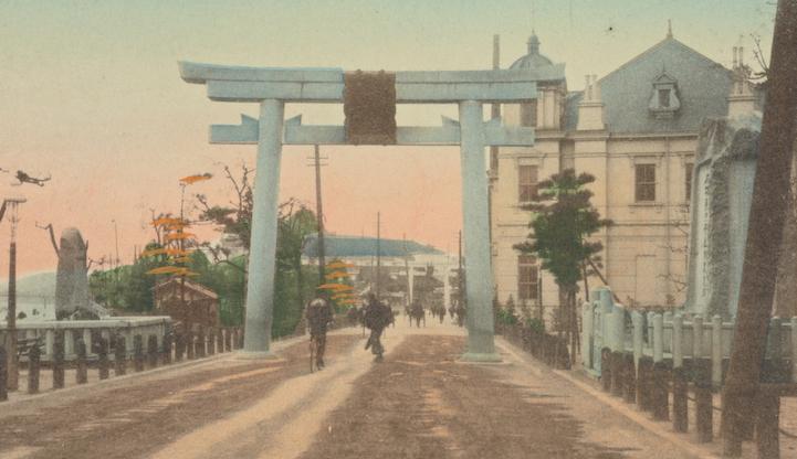 Fotografie colorate a mano di un Giappone prima della guerra