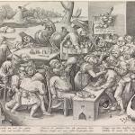 Pieter Bruegel Il Vecchio, De heks van Mallegem of De keisnijding, 1559