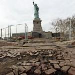 Statua della Libertà, uragano Sandy