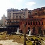 Ugo Rondinone, Giorni d'oro + notti d'argento, Mercati di Traiano
