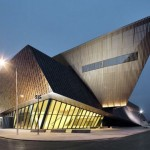 Daniel Libeskind, convencion center, Mons