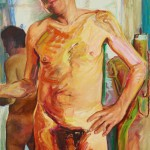 "oan Semmel, ""DAVID,"" 1982. Oil on canvas. Photo courtesy of Alexander Gray Associates, LLC"