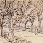 Van Gogh, La Route de Tarascon
