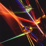 Alberto Biasi, Finestra arcobaleno - anche Light prisms (particolare), 1962-65