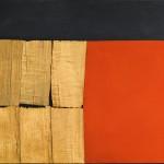 Alberto-Burri-Black-Red-Wood-1960