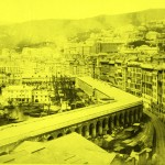 G Noack, Alfred (1833-1895), Genova, Terrazzo di marmo