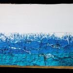 Viaggio #1, Fino alla fine del mare,stampa su legno, 70 x 50, 2015