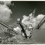 21_Cantiere diga di San Giacomo_Valtellina_Guglielmo Chiolini_anni Quaranta_Archivio storico fotografico Aem Fondazione Aem Milano