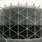 Gasometro Cutler_Officina del gas Bovisa_Milano_ Studio 22_24 luglio 1962_Archivio storico fotografico Aem Fondazione Aem Milano