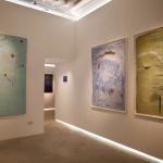 Luca Grechi, In-Finito, 2016, installation view, Galleria La Linea