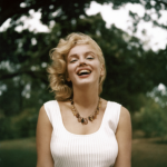 Marilyn Monroe, Amagansett, New-York, 1957 Photo by Sam Shaw, Sam Shaw Inc. courtesy Shaw Family Archives, Ltd.