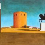 Giorgio de Chirico, La-torre-rossa