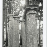 Patti Smith, Columns (Gabriele D'Annunzio's garden), 2003, Gelatin silver print, edition of 10, 10 X 8 in (25.4 X 20.3 cm)
