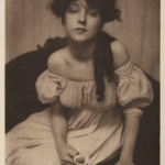 Gertrude Käsebier (1852-1934) Portrait of Evelyn Nesbit 1902