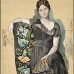 """Pablo Picasso, """"Portrait d'Olga dans un fauteuil"""" (1918), oil on canvas, 130 x 88.8 cm (collection of Musée national Picasso-Paris, ©RMN-Grand Palais / Mathieu Rabeau)"""