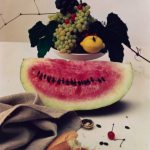 Still Life With Watermelon 1947, Credit Irving Penn, Condé Nast and Metropolitan Museum of Art