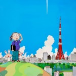 Takashi Murakami, Tokyo Tower, 2009