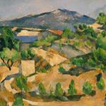 Paul Cézanne, Montagnes en Provence, Le Barrage de François Zola, 1879