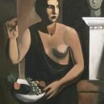 Sironi - Nudo con fruttiera (Venere), 1923 ca.