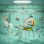 DCG_Ray Caesar_Launderette_34x48inches_86x121cm_Archivial chromogenic print mounted on dibond_edition of 20