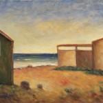 Carrà, Spiaggia con capanni