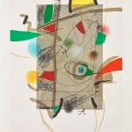 Joan Miro, Sans Titre III 1981, incisione ad acquatinta su carta Guarro