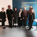 format8, l'equipe, 2017 credits Emilie Courtel_2017 Espace Le Carré